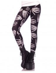 Skelet legging voor vrouwen