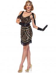 Chique charleston kostuum voor vrouwen