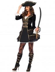 Piratenkapitein kostuum voor vrouwen