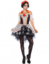 Calavera Día de los Muertos kostuum voor vrouwen