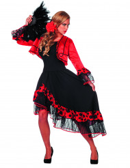 Luxe Spaanse danseres kostuum voor vrouwen
