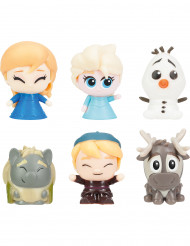 2 flexibele Elsa - Frozen™ figuurtjes