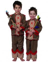 Indianenkostuum met franjes voor baby's
