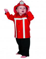 Brandweer baby kostuum