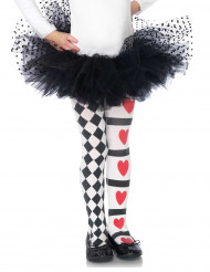 Psychedelische harlekijn legging voor meisjes