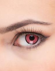 Roze en zwarte contactlenzen voor volwassenen