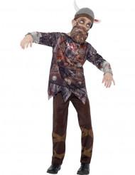 Zombie Viking kostuum voor kinderen