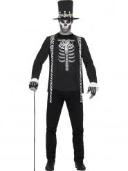 Duister voodoo kostuum voor mannen
