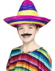 Veelkleurige sombrero voor kinderen