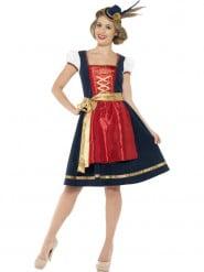 Traditioneel Beierse kostuum voor vrouwen