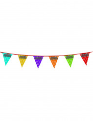 Holografische verjaardag vlaggenslinger