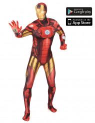 Iron Man Zapper Morphsuits™ kostuum voor volwassenen
