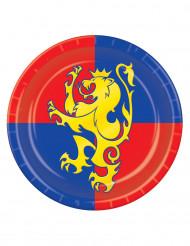 Middeleeuwse borden 23 cm