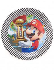 8 kartonnen Super Mario™ borden