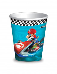 8 kartonnen Super Mario™ bekers 26 cl