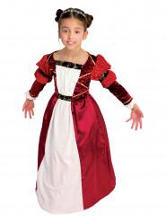 Middeleeuwse gravin kostuum voor meisjes
