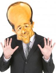 Kartonnen François Hollande masker voor volwassenen
