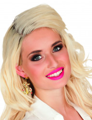 Goudkleurige anker oorbellen voor vrouwen