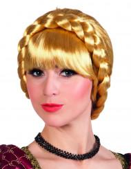 Blonde gevlochten Beierse pruik voor vrouwen