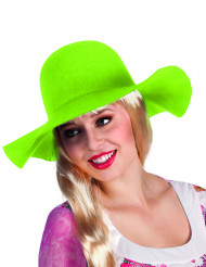 Lichtgroene zomerhoed voor vrouwen
