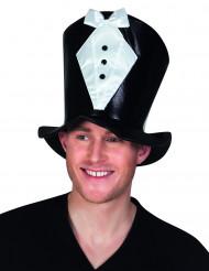 Kostuum hoge hoed voor volwassenen