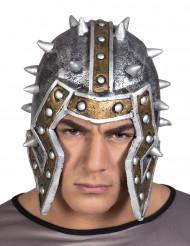 Latex ridder strijder helm voor volwassenen