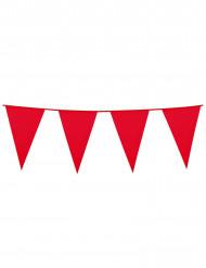 Rode vlaggenslinger