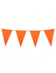 Oranje vlaggenslinger