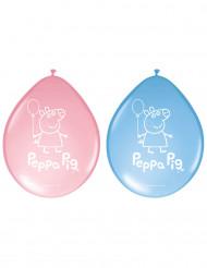 8 Peppa Pig ballonnen