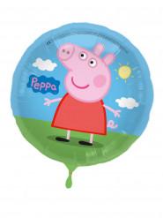 Aluminium Peppa Pig™ ballon 43 cm