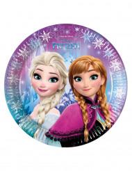 8 kartonnen Frozen™ borden 23 cm