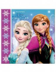 20 papieren Frozen™ servetten 33 cm