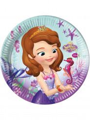 8 kartonnen Sofia het prinsesje™ borden 23 cm