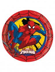 8 Ultimate Spiderman™ kartonnen borden