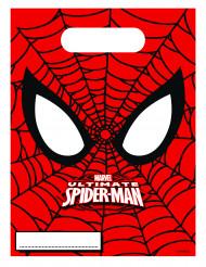 6 Ultimate Spiderman™ cadeauzakken