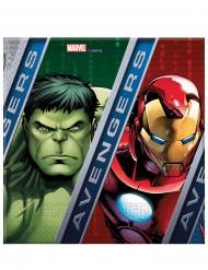 20 papieren Avengers Power™ servetten 33 cm