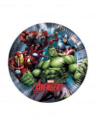 8 kleine Avengers Power™ borden 19,5 cm