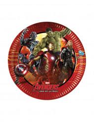 8 kartonnen Avengers Age of Ultron™ borden