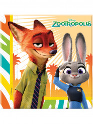 20 papieren Zootropolis™ servetten