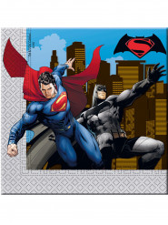 20 papieren Batman vs Superman™ servetten