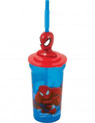Spiderman™ beker met rietje