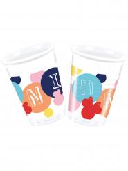 8 plastic bekertjes van Minnie™