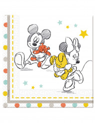 20 Disney Baby™ kraamvisite servetten