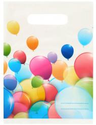 6 ballonnen cadeauzakken