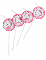 6 Hello Kitty™ rietjes