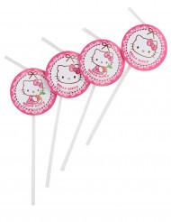 6 Hello Kitty™ rietjes