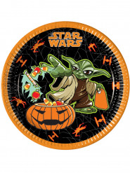 Kartonnen Halloween bordjes Star Wars™