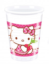 8 bekers Hello Kitty™ 20 cl