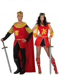 Middeleeuwse ridder koppelkostuum voor volwassenen