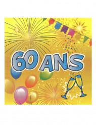 20 servetten 60 ans